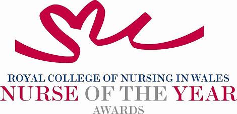 Nurse of the year award logo