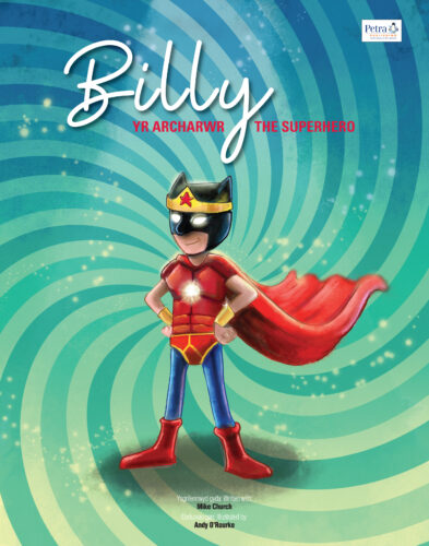 Billy the Superhero book cover